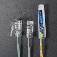 ingrosso portabiti in acciaio inox-Porta spazzolino in acciaio inox 304 Evita il tipo di colla a forare portaspazzolino in acciaio inox