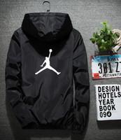 ingrosso grandi abiti da uomo-Giacca da basket di marca Chao con berretti da uomo estate giacca sportiva grande giacca a vento stile sottile tendenza impulso abbigliamento tendenza solare
