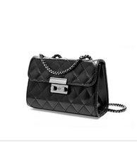 designer taschen junge groihandel-Designer-Handtasche Le Junge Tasche Frauen Schultertasche diagonal Rauten Plaid Leder Designer-Handtaschen Diagonal Tasche