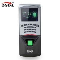 leitor de código de porta venda por atacado-BM7 Biométrico de Impressão Digital de Controle de Acesso Da Máquina Digital Elétrica RFID Leitor Sistema de Código de Sensor De Scanner Para Fechadura Da Porta