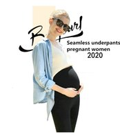 Wholesale lifting springs resale online - 2020 new pregnant women pants three outer wear safety pants spring and summer bottoming yoga pants stomach lift pregnant women nine points p
