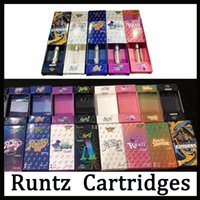neueste zerstäuber großhandel-Neueste Runtz Vape Cartridges Carts Verpackung 9 Geschmacksrichtungen für Option E Zigarette leeren Stift 0,8 ml 1,0 ml Ölpatrone Vaporizer 510 Zerstäuber