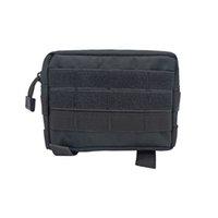taktik torba toptan satış-DFF5252S Taktik Çanta Aksesuar Programı Fermuarlı Araçları Kılıfı Moda Açık Cep Çantaları Dayanıklı