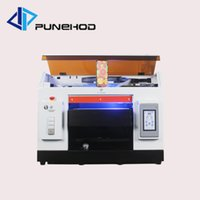 Wholesale new inkjet printers for sale - Group buy New arrival small mini a3 size digital uv led rotary flatbed printer prices for bottle printing machine