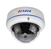 caméras ip 3mp achat en gros de-BESDER H.265 5MP 2592 * 1944 Caméra IP Vandal-preuve Surveillance Surveillance Caméra Dôme Vidéo CCTV H.265 5MP 3MP 2MP Caméra IP DC 12V 48V PoE