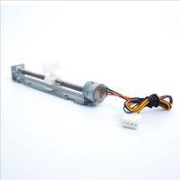 ingrosso colpi motore-Corsa motore passo-passo 12V 80 mm con motore scorrevole per piccola macchina per incisione laser fai da te