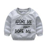 trajes de tutu de cebra al por mayor-2019 niños varones Ropa de otoño conjuntos de ropa para bebés Bebé recién nacido niña niño camiseta de manga larga + pantalón de cebra Sombrero 3pcs Trajes conjunto