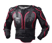 Wholesale gear body armor online - high quality Motorcycle racing Full Body Armor sports safety Back Support Cycling gear Off road armor clothes