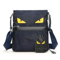 hochwertige herren schultertaschen großhandel-Design Business Man Bag Vintage Brand Herren Umhängetasche Hochwertige Oxford-Schultertasche für Herren Bolsa Hot