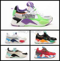 самые высокие ботинки ползучего оптовых-2020 New Creepers Высокое Качество RS-X Игрушки Reinvention Shoes des chaussures Мужчины Женщины Бег Баскетбол Тренеры Случайные Кроссовки Размер 36-45