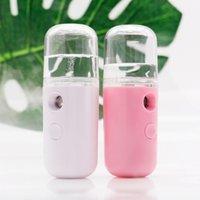 mini vaporizador facial nano al por mayor-Nano Mist Sprayer portátil Nebulizador corporal facial Vapor Hidratante Cuidado de la piel Mini 30ml Spray facial Instrumentos de belleza
