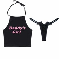 panty erwachsenen großhandel-Damen Sexy Crop Tops Dessous mit Devil Angel Wings Tangas Erwachsenen Cosplay BH und Panty Set