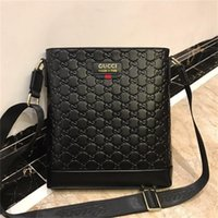 Wholesale fashion business briefcase resale online - Briefcases Genuine Leather Briefcases Best Quality Fashion Dress Business Briefcase Men Computer Bags Men Briefcases