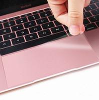 dizüstü film koruyucuları toptan satış-1 adet Klavye Kapakları için Yüksek Temizle Touchpad Koruyucu Film Sticker Koruyucu Macbook Pro 13.3 15 Dokunmatik Pad Dizüstü