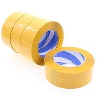 embalagem de papel washi adesivo venda por atacado-2016 2016Wholesale Materiais de embalagem 110m * 4,4 centímetros Amarelo Qualidade fita de embalagem de fita Comprimento Peso líquido 290g total de 110m T190618