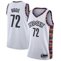 camisa de jersey superior basquete venda por atacado-SPREAD-Love 72 BIGGIE Basketball Jersey Top NCAA costurado cama Stuy BIGGIE Cidade mangas do basquetebol camiseta S-XXL