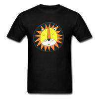 ingrosso tessuti di leone-T-shirt Lion Sun Kawaii Cartoon T Shirt Uomo stampato Tshirt Carino Tops adulto T oversize 100% cotone tessuto vestiti divertenti