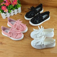 Wholesale toddler trainers online - Cute Comfortable Spring Autumn Baby Girls Sneakers For Toddler Kids Trainers Shoes Casual Princess Tassel Shoes Children
