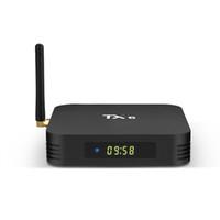 hdmi bluetooth box оптовых-2019 Новый TX6 H6 Четырехъядерный процессор 4 ГБ RAM 64G Android 9.0 TV Box 2.4G 5G WiFi Bluetooth IPTV Media Player