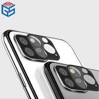 стеклянные линзы 3d оптовых-Для iPhone 11 Pro Max 11 Pro 3D Mobile High Definition объектив камеры Закаленное стекло экрана протектор