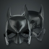 Wholesale knight mask resale online - 2020 Dark Knight Rises Halloween Batman Mask Face Costume Half Face Mask Adult Masquerade Carnival Dressing Dance Bat Man