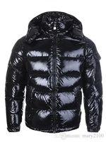 casacos de penas para homens venda por atacado-HOT New Homens Mulheres Casual Jacket Down Coats Mens Outdoor Quente Brasão outwear Casacos Parkas Feather Man Inverno
