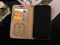 estuche horizontal negro al por mayor-Para iPhone Pro 11 max 7 8 Plus X cuero del teléfono del caso de la Max Xr caja de la carpeta de lujo de la PU con ranuras para tarjetas de Samsung Nota 9 10 9 S8 S10P