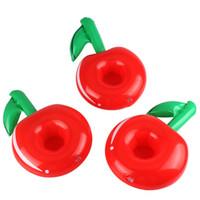 ingrosso nuovo frutto della mela-New Apple Cup Holder Gonfiabile Cuscino gonfiabile Galleggiante Tubes Pool Toys Top Fashion Nuoto Prodotti Sport acquatici 1 8dqG1