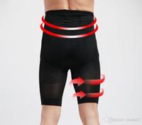 butt lift shapewear toptan satış-Erkekler Yüksek Bel Vücut Şekillendirici İç Erkekler Popo Kaldırma Shapewear Bel Çemberleme Külot Bellies Vücut Şekillendirici Kontrol