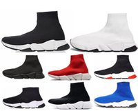 0e49a74015bd balenciaga boost 2019 Versand Mit Box Mens und Womens Casual Schuhe Zoom  Slip-on Speed Trainer Niedrig Mercurial XI Schwarz High Fashion helfen  Socken ...