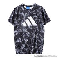 футболка продажа летний стиль оптовых-2019 adid стиль низкая цена продажа спорт работает футболка мужские и женские летние повседневные футболки мужские дизайнерские футболки