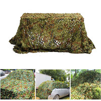 Wholesale free mm games resale online - 3X4M Army Camouflage Nets Outdoor Car Cover Army Camping Hiking Sun Shelter Tent Fishing Hunting Equipment