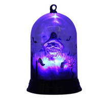 jaque decoração venda por atacado-Decoração de Halloween Abóbora Luz Hangable Indoor Desktop Assombrado Festa Luz Jack-o-lanterna Bruxa Lâmpada Enfeites Festival