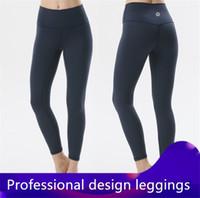 orange yogahose groihandel-Fashion Light Luxury Leggings Markenqualität Freizeithosen Jogger Weiche und bequeme Damenhosen Yoga Fitness Freizeit Alltag