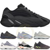 ingrosso scarpe da corsa mens soft soft-2019 700 V2 Vanta Runner Kanye West Geode Statico Mauve Wave Uomo Donna Inertia OG Solido Grigio Scarpe da corsa Sport Sneakers 36-46