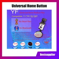 Wholesale The New Edition YF HX Universal Home Button Flex for iPhone Plus Plus Return Home Function Solution