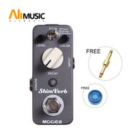 Wholesale mooer pedals free shipping for sale - Group buy Mooer ShimVerb Reverb Pedal Distortion Pedal Reverb Modes Room Spring Shimmer Full metal shell True bypass MU0335