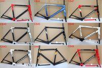 bicicletas de carretera al por mayor-2019 el más nuevo marco de carretera de carbono Colnago C64 completo cuadro de bicicleta de carbono T1100 UD cuadro de bicicleta de carretera de carbono tamaño 48 cm 50 cm 52 cm 54 cm 56 cm