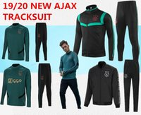 trainingsuniform großhandel-neuer Ajax Trainingsanzug 2019/2020 Ajax Trainingsanzug 2019/2020 VAN DE BEEK DOLBERG Kluivert Fußballuniform Größe S-3XL