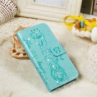 ingrosso portafogli in stile bling-per Samsung Note 10 Plus Custodia per telefono in pelle PU di lusso con diamanti Bling Book Style per Samsung A70 A80 A90 Borsa a portafoglio