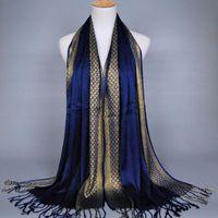 гладкие джерси-шарфы оптовых-Plain Viscose Hijab Jersey Hijabs Cotton Scarves With Rivets Beautiful Hijab Caps Shawl