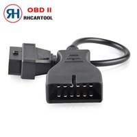 Wholesale 16 pin gm connector for sale - Group buy OBD2 cm Extension cable Connector Adapter for GM Pin GM12 to Pin Auto Diagnostic Cable For GM Vehicles Car adapter