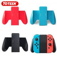 soportes de ángulo negro al por mayor-Agarre de mano para Nintendo Switch Joy Con Holder Controlador de la caja del controlador