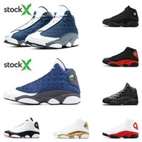 Wholesale outdoor shoes cat resale online - s Flint basketball shoes mens trainers Stock X black cat Bred DMP Top quality He got game sports sneakers fashion outdoor