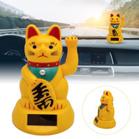 Wholesale car symbols for sale - Group buy Car Accessories Cute Welcoming Fortune Symbol Figurine Paw waving Fortune Cats Car Decoration Kittens Doll Toy Children Gifts
