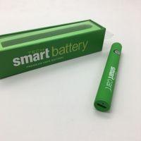 Wholesale smart starter resale online - Smart Battery Adjustable Preheating Vape Pen with USB Charger Starter Kit Variable Voltage mAh For Disposable Cartridges Smart Carts