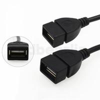 ingrosso mp5 compressa-Micro USB Host Cavo OTG 10cm 5pin mini cavo USB per tablet pc cellulare mp4 mp5 Smart Phone nuovo