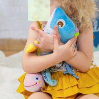 sacs à bandoulière en peluche achat en gros de-1pcs Bébé Jouet animal Windbell Neonates 0-1 ans Lit Hanging Musique Jouets Interaction parent-enfant créatif Hochets Toy