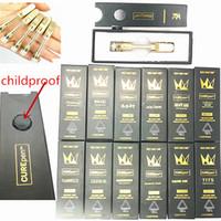 распылитель 2 мм оптовых-West Coast Cure Pen Vape картриджи Пустой бак Распылитель 510 2мм Thread густое масло 0,8 мл 1мл 12 Flavors E сигареты