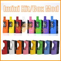 ingrosso v2 e batterie per sigarette-Kit di olio denso originale Imini Kit di batteria incorporato 500mAh Mod 510 Filetto da 0,5 ml 1.0ml Kit cartuccia di sigaretta V2 per vaporizzatore e sigaretta Liberty V1